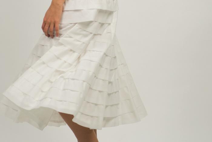 Cotton Layered Skirt 231