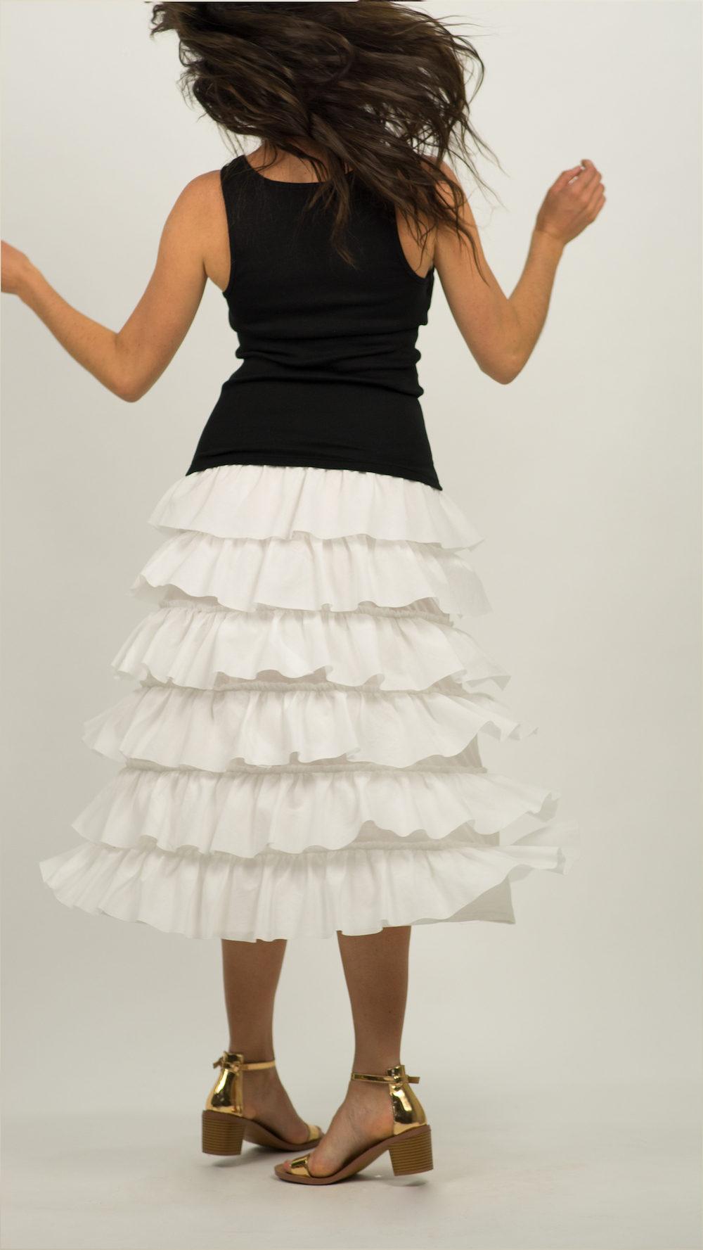 Flouncy Layered Skirt 679