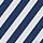 Navy and White Stripe