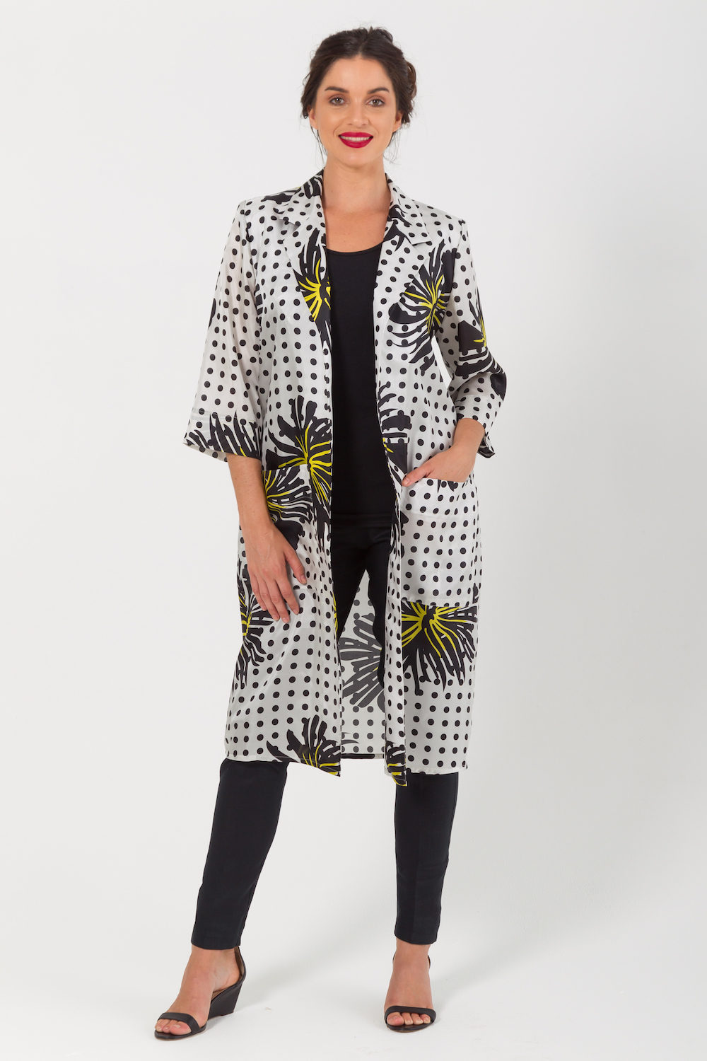Lux Print Dustercoat