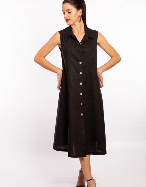 Linen Dress, Ladies Fashion